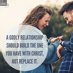 Truth! Godly relationships don't just happen, they're intentionally built. #projectinspired