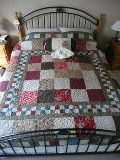 Hopefully, my next project. Love the big squares.