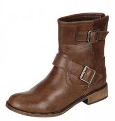 Chocolate+Zipper+Boots