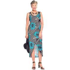 Rapz Tulip Hem Floral Print Cover-Up/Dress - 3 Colours Teal Yellow, Red And Teal, Black White Stripes, Bikini Fashion, Bikini Colors, Black Print, Nightwear, Tulip, Floral Prints