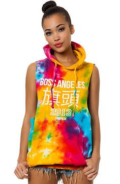 Dimepiece Designs Hoody Boss Angeles Tie Dye Pullover, Save 20% off your order with Rep Code: PAMM6