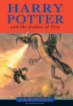 "New Must-See ""Harry Potter"" Covers -- 4. Harry Potter and the Goblet of Fire: - J.K. Rowling's classic books are getting a new look thanks to incredible artist Jonny Duddle. Covers are worldwide, save North America, where the Harry Potter books are published by Scholastic.   Original Covers vs. New Covers Courtesy of Slidey Thing™"