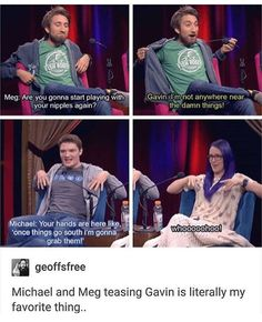 I remember this episode of on the spot😂 Roosterteeth Rwby, Roster Teeth, Gavin Free, Achievement Hunter, Red Vs Blue, Bad Puns, Funny Youtubers, How To Memorize Things, My Favorite Things