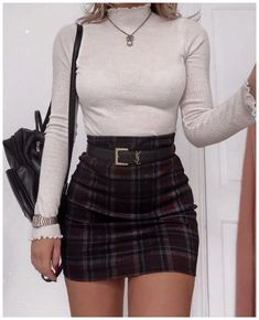Top 25 Preppy Style and Outfits To Look Great This Fall - Mode Party Outfits For Women, Winter Fashion Outfits, Girly Outfits, Cute Casual Outfits, Look Fashion, Stylish Outfits, Spring Outfits, Fall Fashion, Spring Dresses