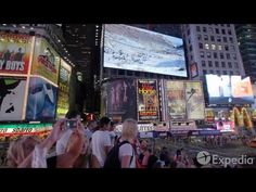 Times Square Vacation Travel Guide | Expedia - YouTube