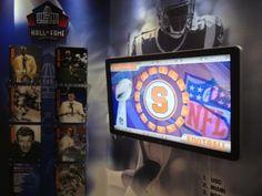 Syracuse University, College Campus, Digital Signage, Flat Screen, Wings, Football, Digital Signature, Blood Plasma, Soccer