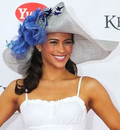 Fantastic hat with blue trimmings. Compare styles on Amazon at http://buyfascinatorhats.com