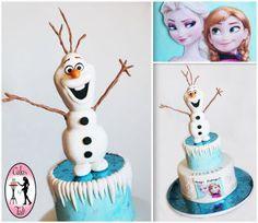 Frozen Disney Cake - CakesDecor
