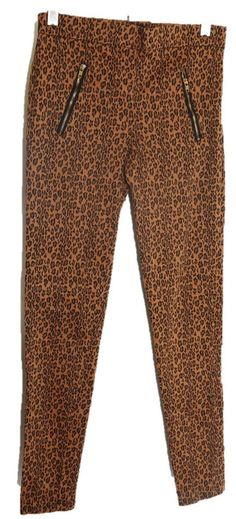 FOREVER 21 XXI Womens Leopard Animal Print Leggings Brown Pants Size M Medium gm | Clothing, Shoes & Accessories, Women's Clothing, Leggings | eBay!