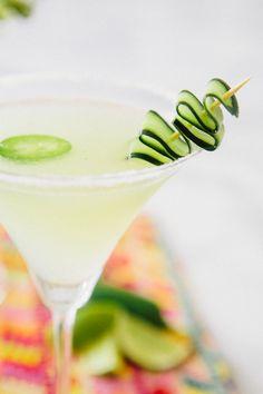 Cucumber Jalapeño Martini