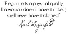 Karl Lagerfeld Quote by DolceDanielle, via Flickr