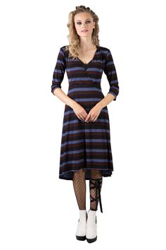 Sophie Juliet Dress   Annah Stretton   New Zealand   Annah Stretton Winter 2017, Rose Buds, Faeries, Body Shapes, A Line Skirts, Stripes, Sweaters, Collection, Dresses