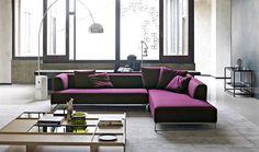 Sofa: SOLO '14 - Collection: B&B Italia - Design: Antonio Citterio