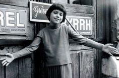 """""""Zazie dans le métro"""", a zany Parisian Louis Malle movie. Catherine Demongeot  as Zazie, 1960."""