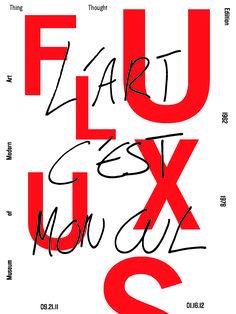 L'art c'est mon cul. Fluxus Exhibition MoMA
