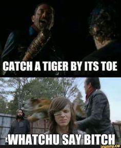 Season 7 finale; The Walking Dead