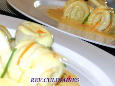 Filets de sole,sauce à l'orange et au grand Marnier