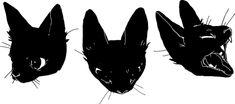 cat art cute kawaii beautiful kill cats black dark pastel goth ...