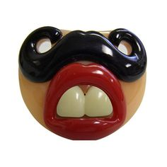 These Billy-Bob pacifiers are funny, yet functional and safe.  This pacifier will bring your baby extra attention and many laughs.