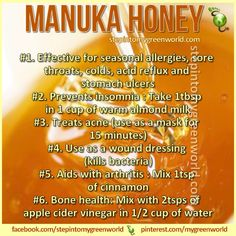 Manuka honey www.lovehealsus.net