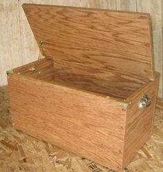 This Link Also Takes You To Plans For A Hope Chest Or Storage Box Free Toy  Box Plans   How To Build A Wooden Toy Box