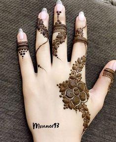 Mehndi Designs Finger, Floral Henna Designs, Mehndi Designs 2018, Modern Mehndi Designs, Mehndi Design Pictures, Mehndi Designs For Girls, Mehndi Designs For Fingers, Henna Tattoo Designs, Mehandi Designs