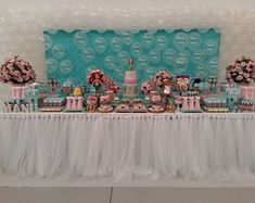 decoracao-pequena-sereia-bolo-cenografico-pequena-sereia Slumber Parties, Barbie, Birthday Cake, Baby Shower, Party, Room, Little Mermaid Decorations, Mermaid Birthday, Industrial Kids Decor