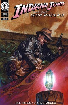Indiana Jones and the Iron Phoenix Issue 3