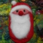 Weihnachtsmann Handytasche Preis: 15 Euro Parrot, Bird, Christmas Ornaments, Holiday Decor, Animals, Papa Noel, Homemade, Cushion, Bags