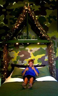 Boys Room, Camouflage, Bedroom