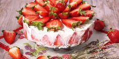 Jahodové tiramisu - Tinkine recepty Camembert Cheese, Cheesecake, Strawberry, Pudding, Fruit, Recipes, Cakes, Lemon, Cheesecakes