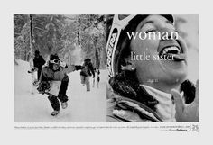 Read more: https://www.luerzersarchive.com/en/magazine/print-detail/15227.html Woman. Little sister. Aunt. Boarder. A new site from Planet Outdoors.com filled with advice, community, camaraderie, inspiration, gear and apparel chosen for women, by women. All thoughtfully gathered together in one place. Tags: Crispin Porter + Bogusky, Miami,Michele Clement,Bill Wright,Andrew Keller,womenoutdoors.com
