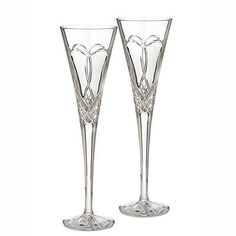 Waterford Crystal Times Square 2011 Champagne Flute(s) Pair - N\A - Brand New - First Quality