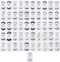 1c16c304f59 6,12 Pairs Amor us 100% Human Hair False Eyelashes All Style False Eyelashes