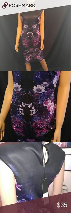 NWT $89 Kardashian Kollection Body Con Dress Beautiful fitted dress for ladies with curves.  Brand new.   Why SHOP MY Closet? 💋Most New with tags or worn once 💋Smoke free 💋OVER 300 🌟🌟🌟🌟🌟RATINGS & RISING! 💋TOP 10% Seller  💋TOP RATED 💋 FAST SHIPPER   💋BUNDLE DISCOUNT OF 20% 💋QUESTIONS?? PLEASE ASK! ❤HAPPY POSHING!!! 💕 Kardashian Kollection Dresses Midi