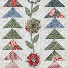 "Quilts in ""Half a Day"" by Eleanor Burns #accuquilt"