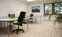 Freie Arbeitsplätze in modern eingerichtetem Büro #Büro, #Bürogemeinschaft, #Office, #Coworking, #Frankfurt