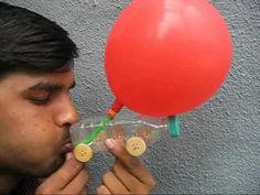 Great simple way to make air powered cars.