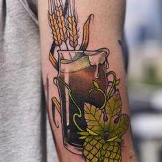 Bier-Tattoo-Beer-002-Aga Yadou