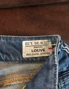 Diesel Women's Jeans on Mercari Denim Man, Women's Jeans, Diesel, Flare, Italy, Fitness, How To Make, Pants, Vintage