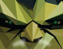 Triangle SH! by Marinos , via Behance