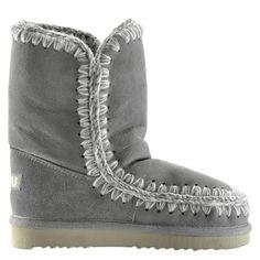 Mou Eskimo Short Boots Women New Grey - MOU #mou #eskimo #boots #women #fashion
