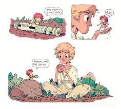 Hanna K. Draws | it's an adventure