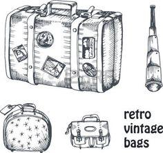 Suitcase by Chubby Broccoli http://jacquelinehudon.blogspot.com.au ...