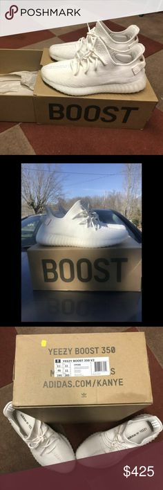 c429b45afdc20 Like new pair of white cream YEEZY boost 350. Kanye WestZapatillas AdidasZapatos  ...