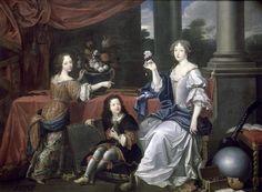 Duchesse de la Valliere and her Children, 1673 by Pierre Mignard ✏✏✏✏✏✏✏✏✏✏✏✏✏✏✏✏ IDEE CADEAU / CUTE GIFT IDEA  ☞ http://gabyfeeriefr.tumblr.com/archive ✏✏✏✏✏✏✏✏✏✏✏✏✏✏✏✏