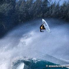 Surfing's equal to a high jumper; Flynn Novak Photographer Sean Davey