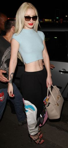 Iggy Azalea at the Angel Haze Gypsy Militia UK Tour concert in London on  May 7 e835c0de3a9e9