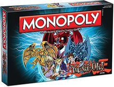 Choose your favorite Millennium token and travel around the board collecting and trading Yu-Gi-Oh! duel monsters. To defeat your opponents you will need to have the strongest monsters like the dark m...