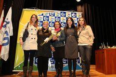 Equipe da Agência LVBA, apoiadora do Projeto Vídeo Memória e criadora do Logo do ano, Andresa Dias, Camila Pires, Gisele Lorenzetti